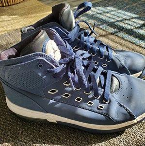 Men's Nike Jordan Navy Blue High Tops